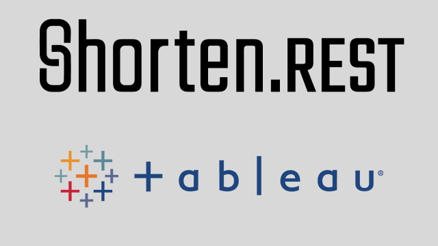 Introducing Shorten.REST Tableau Connector